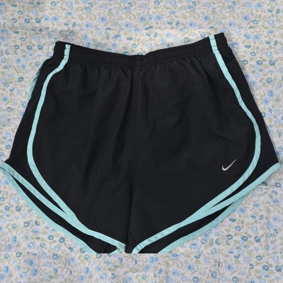 Nike Pants - Nike Tempo Short Black and Light Blue Small